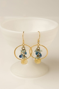 Open Lotus Earring