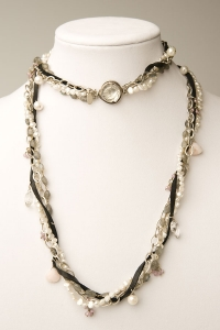 Twisted Leather Necklace