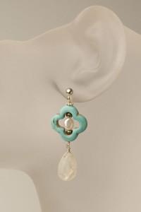 Clover Leaf Earring