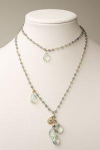 Fluorite Tears Necklace