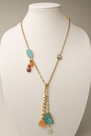 Lariat With Turquoise
