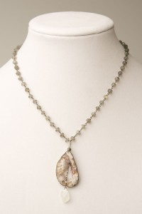 One And Only Geode Necklace